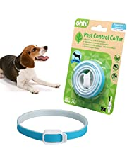 Collar for Cats and Dogs Natural Botanic Essential Oil Protection Collar Lasting Up to 60 days Adjustable Size(Blue)