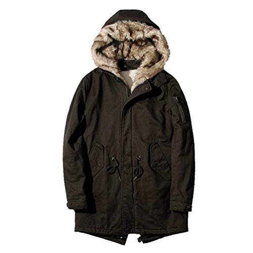 Casual Warm Men's Kaffee Jacket Coat Chaude Winter Jacket Adelina Outerwear Parka Coat Down Hooded Jacket Jacket Jacket xHfzIf