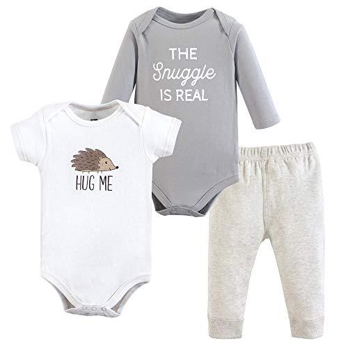 Hudson Baby Baby Bodysuit and Pant Set, Hedgehog 18-24 Months ()