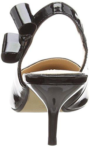 Cerrada Perkins Mujer 130 de Tacón Black para Punta con Dorothy Negro Edina Zapatos p0xffU