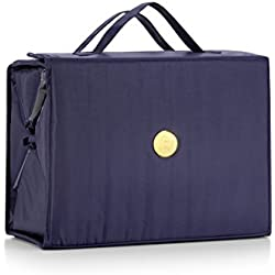 Joy Mangano Extra Large Better Beauty Case, Navy, x
