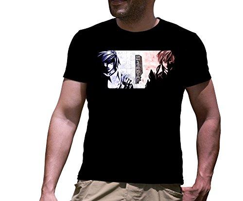 T-Shirt Death Note Nera 004 Maglietta Personalizzata