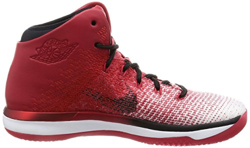 NIKE Mens Air Jordan XXXI Basketball Shoes Varsity Red/Black/White 845037-600 Size 10.5 BXDVRYZ