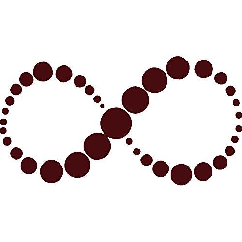 Símbolo del infinito Tatuajes de pared dormitorio de vinilo ...