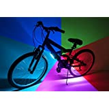 Brightz, Ltd. Go Brightz LED Bicycle Light, Color Morphing