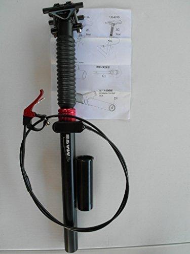 30.9 x 445mm Dropper Seatpost w//Remote Post MTB Downhill Bike TMARS 419L 27.2