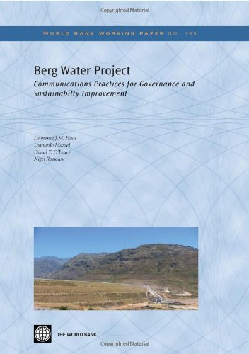 Berg Water Project: Communications Practices for Governance and Sustainability Improvement (World Bank Working Papers) by Brand: world bank publications