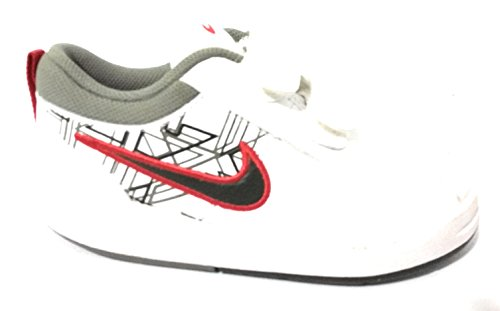 NIK E - Zapatillas de Material Sintético para niño blanco Bianco