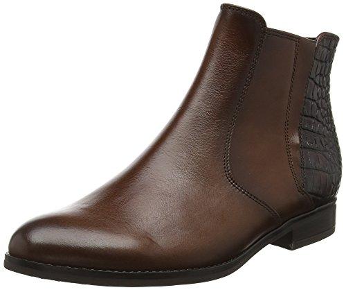 Gabor Shoes Fashion, Botas Chelsea para Mujer Marrón (Castagno/TeakEff)