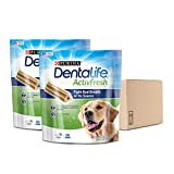 Purina DentaLife Large Breed Dog Dental Chews; ActivFresh Daily Oral Care Large Chews - (2) 30 ct. Pouches
