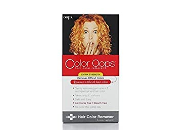 Amazon Com Color Oops Hair Color Remover Extra Strength 1