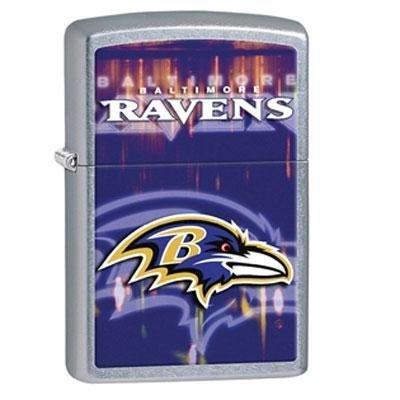 Zippo NFL Baltimore Ravens Street Chrome Pocket Lighter