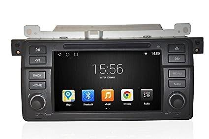 GOWE Android 4.4.4 Quad Core 7 pulgadas de navegación GPS coche reproductor de DVD