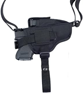 product image for Soft Armor Ambidextrous Horizontal Nylon Shoulder Gun Holster