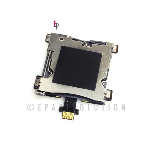 ePartSolution-HTC One M7 801e Sim Tray Card Reader Card Holder Flex Cable Replacement Part USA Seller (Htc One Sim Card Tray)