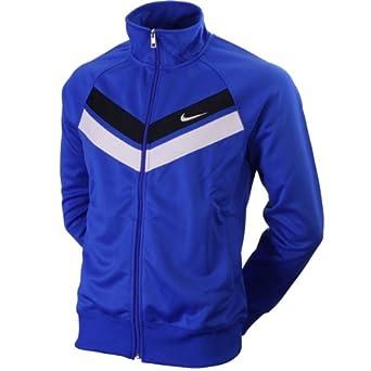 najlepsze ceny ładne buty Najnowsza Nike Athletic Dept Striker Track Top Jacket Blue/White Mens ...