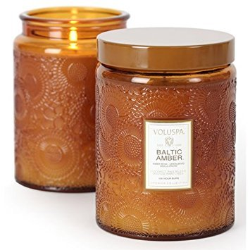 - Voluspa Baltic Amber Jar Candle