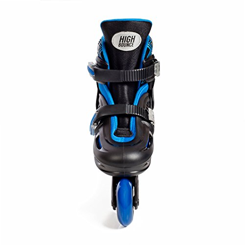 High Bounce Adjustable Inline Skate (Blue, Large (6-9) ABEC 7) by High Bounce (Image #2)