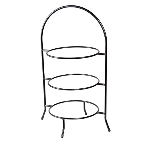 Creative Home 73045 3-Tier Dinner Plate Rack, 20-Inch H (Creative Stand)