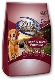 Nutrisource Beef Rice Dog Food 30 Lb