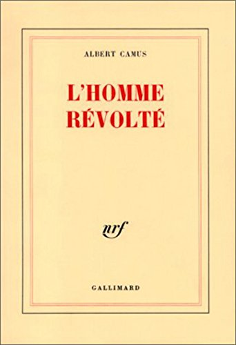 lhomme-revolte-french-edition