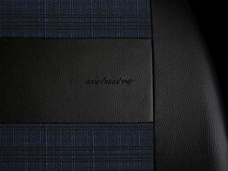 Copri sedili universali Exclusive Eco Pelle E1 Tessile