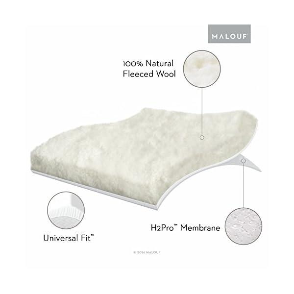 Wool Mattress Pad and Protector