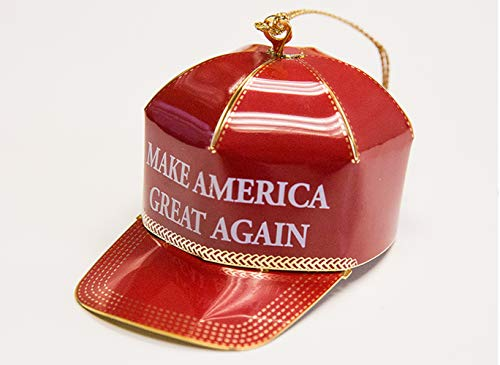 Trump Make America Great Again Red Cap Collectible Ornament - Ornament Great