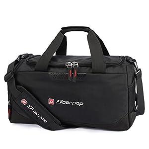 Soarpop 30Lスポーツバッグ シューズ収納可 2wayジムバッグ ブラック