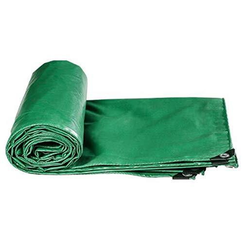 愛情深い脆いお互いCHAOXIANG ターポリン サンシェード 厚い 耐摩耗性 シェード リノリウム PVC 厚さ0.44mm、 17サイズ、 カスタマイズ可能な (色 : Green, サイズ さいず : 3.8mx3.8m)