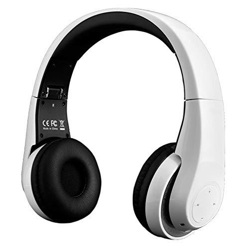 (Renewed) STK BTHS800 Groovez HD Bluetooth Headphones (White)