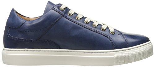 Donald J Pliner Heren Addo Fashion Sneaker Navy Gepolijst Kalf