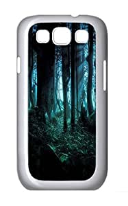 Samsung Galaxy S3 Case and Cover- Spooky Woods Custom PC Case for Samsung Galaxy S3 / SIII / I9300 White