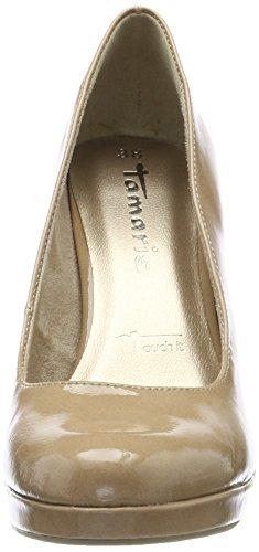 Scarpe con Tamaris Plateau Patent Tacco 22426 col Nude Donna Beige 6xxqZga5
