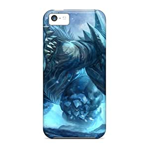 New XCj34326kXgt Creature Slayer Skin Cases Covers Shatterproof Cases For Iphone 5c