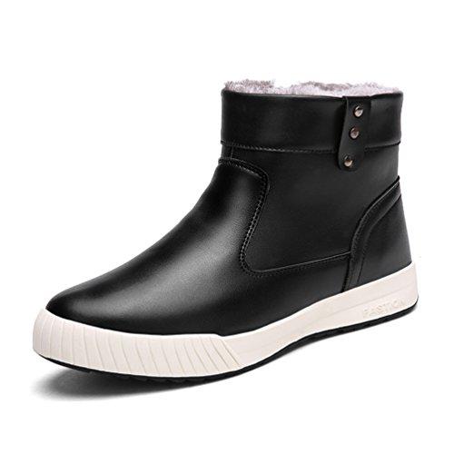 High High uomo neve pelliccia scarpe Top Yiruiya Yiruiya impermeabile Black stivali pBPqfwPO