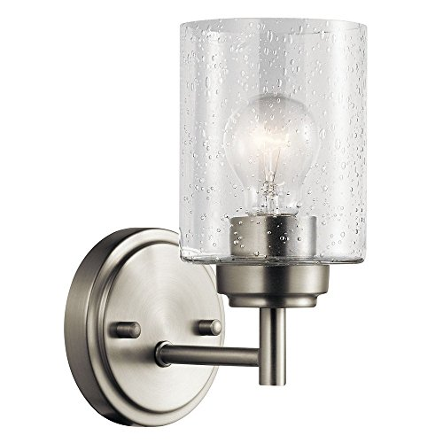Kichler Lighting 45910NI One Light Wall Sconce from the Winslow (Winslow Wall Sconce Finish)