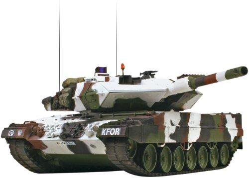 VS Tank A03102979 2.4GHz Leopard 2 A5 IR Battle Tank (1/24 Scale), Winter - Tanks Ir Battle