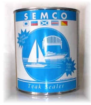 Semco Goldtone Teak Sealer Gallon (Semco Outdoor)
