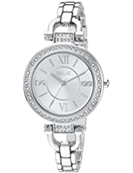Relic Womens Leah Quartz Stainless Steel and Alloy Casual Watch, Color Silver-Toned (Model: ZR34414)