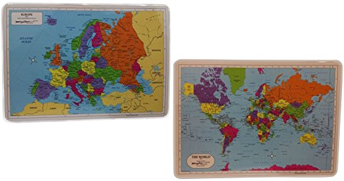 Painless Learning Laminated Educational Placemats product image
