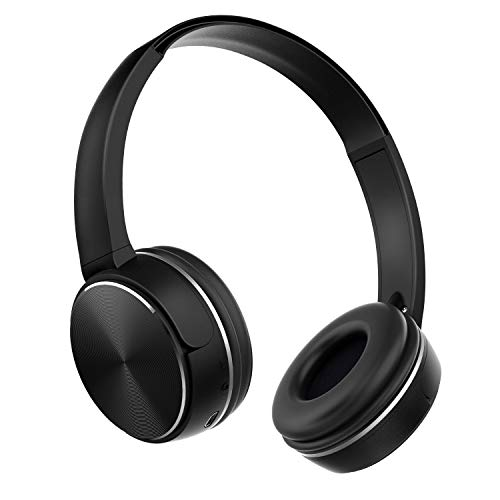 Wireless Over Ear Headphones - Bluetooth Earphones with Built-in Microphone - Soft Memory Protein Ear Muffs - HD Sound Quality - Long Autonomy - Comfortable Design - 3 Modes