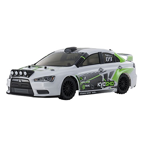 Kyosho FAZER VE-X Lancer Evolution X - T1 Version Vehicle, White ()