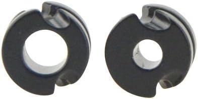 "3pcs Archery aluminum peep sight 3//16/"" hole Black for compound bow hunting"