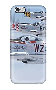 1946043K93528717 Case For Iphone 6 Plus With Nice Mustang Planes Appearance