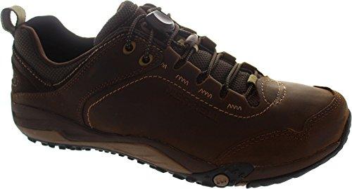 Merrell Helixer Morph - Zapatos de cordones para hombre marrón