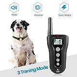 PATPET Dog Shock Collar with Remote - 1000' Range