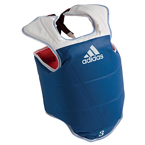 Adidas WTF TaeKwonDo Solid Reversible Chest Protector - Large
