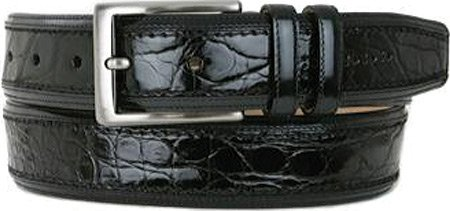 Mezlan Men's 8597-C Belt Black 42