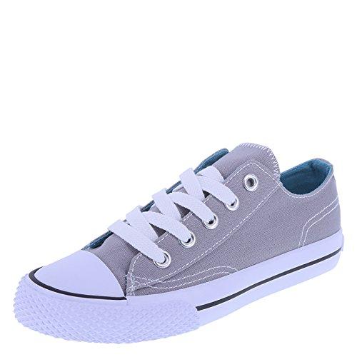 Airwalk Kids' Grey Turquoise Kids' Legacee Sneaker 13 Regular